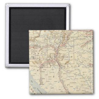 Sante Fe Route, California Magnet