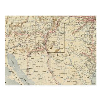 Sante Fe Route, California Postcard