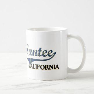 Santee California City Classic Coffee Mugs