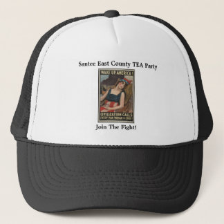 Santee East County TEA Party, Join The... Trucker Hat
