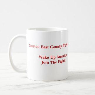 Santee East County TEA PartyWake Up Am... Coffee Mug
