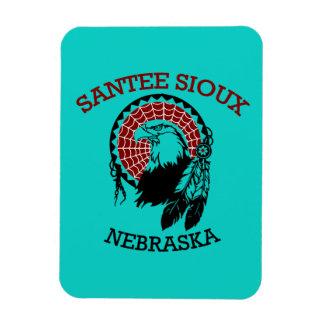 Santee Sioux Flexible Magnet