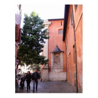 Sant'Egidio en Trastevere Tarjeta Postal