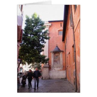 Sant'Egidio en Trastevere Tarjetón