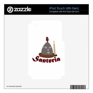 Santeria iPod Touch 4G Skin