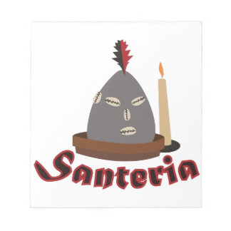 Santeria Notepad