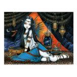 Santha Celestial Tribal Sage Fairy Angel Poscard Postcard