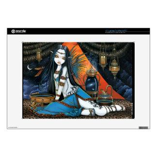 """Santha Tribal Celestial Fairy 15"""" LapTop Skin"""