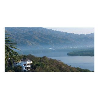 Santiago Bay Morning in Manzanillo Card