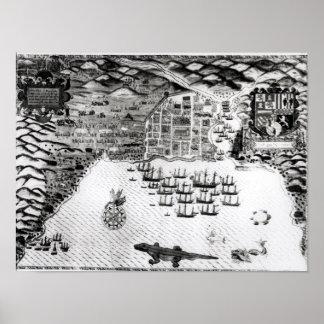 Santiago, Cape Verde, 1589 2 Poster