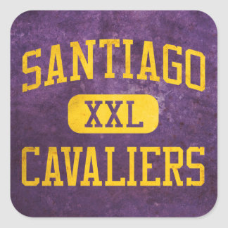 Santiago Cavaliers Athletics Square Sticker