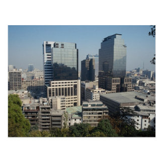 Santiago céntrica Chile Tarjetas Postales