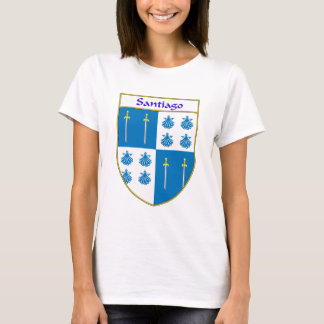 Santiago Coat of Arms/Family Crest T-Shirt