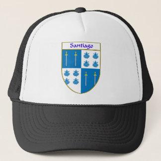 Santiago Coat of Arms/Family Crest Trucker Hat