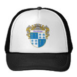 Santiago Coat of Arms (Mantled) Mesh Hats