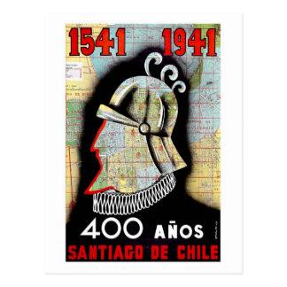 Santiago De Chile Post Card