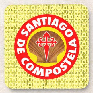 Santiago de Compostela Beverage Coaster