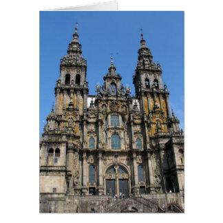 Santiago de Compostela Cathedral Card