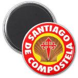 Santiago de Compostela Imán Para Frigorifico