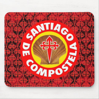 Santiago de Compostela Mouse Pad