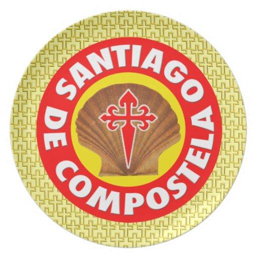 Santiago de Compostela Plate