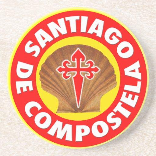 Santiago de Compostela Posavasos Manualidades