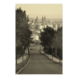 Santiago de Compostela Póster