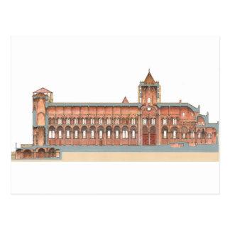 Santiago de Compostela Romanesque Cathedral. 2 Postcard