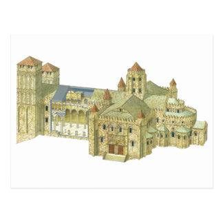 Santiago de Compostela Romanesque Cathedral. 3 Postcard
