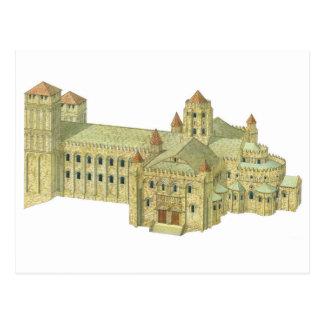 Santiago de Compostela Romanesque Cathedral. Postcard
