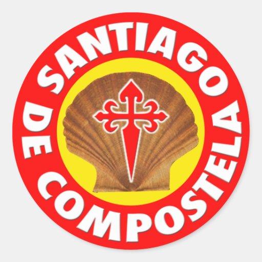 Santiago de Compostela Stickers