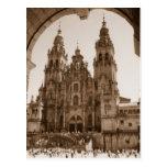 Santiago de Compostela Tarjeta Postal