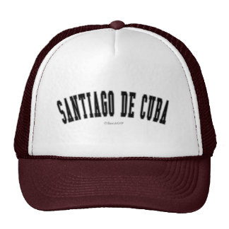 Santiago de Cuba Gorras De Camionero