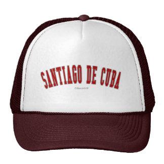 Santiago de Cuba Gorros Bordados