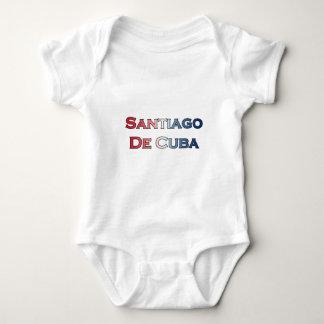 Santiago de Cuba Text Logo Shirts