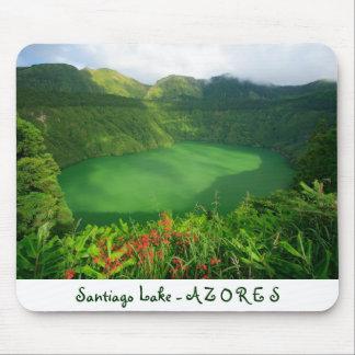 Santiago Lake, Azores Mouse Pad