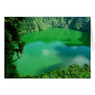 Santiago Lake Greeting Card