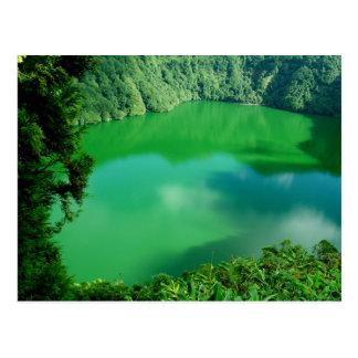 Santiago Lake Postcard
