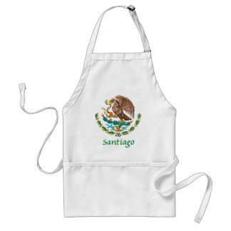 Santiago Mexican National Seal Adult Apron