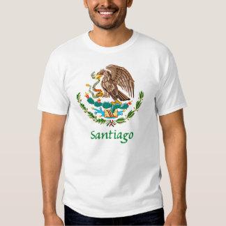 Santiago Mexican National Seal T-shirt