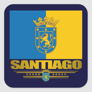 Santiago Square Sticker