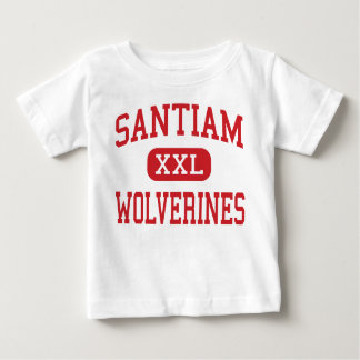 Santiam - Wolverines - High - Mill City Oregon Baby T-Shirt