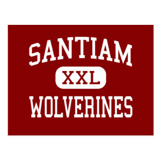 Santiam - Wolverines - High - Mill City Oregon Postcard