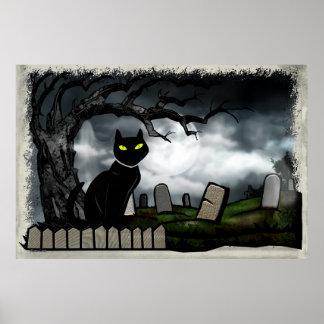 Santifica el arte popular de Halloween del Impresiones