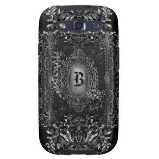 Santifique el gótico del Victorian de la sombra Galaxy S3 Protectores