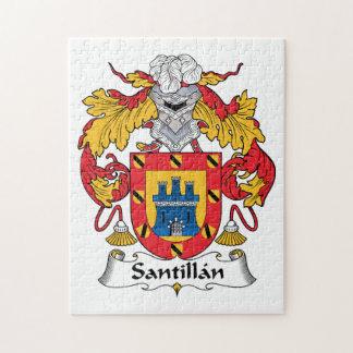Santillan Family Crest Jigsaw Puzzle