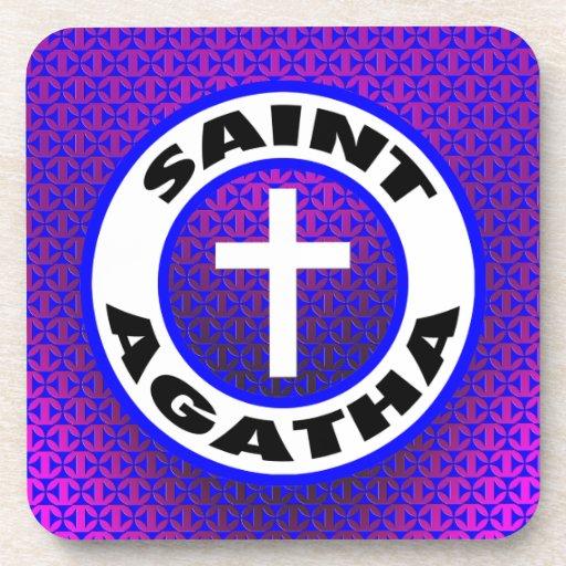 Santo Agatha Posavasos