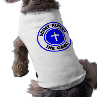 Santo Albert el grande Playera Sin Mangas Para Perro