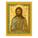 Santo Alexis el hombre de dios - tarjeta del icono Tarjeta Postal