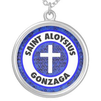 Santo Aloysius Gonzaga Colgante Redondo